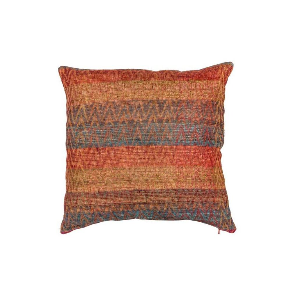Shaki Handloom Cushion Cover