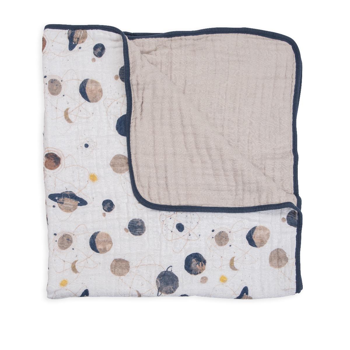 Little Unicorn Cotton Muslin Quilt Planetary