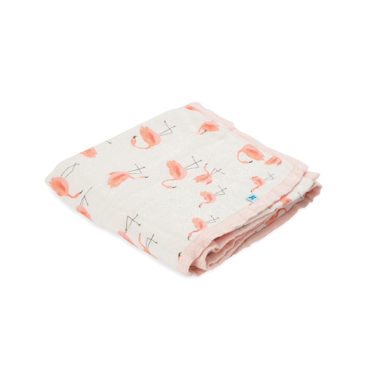 Little Unicorn Deluxe Muslin Quilt Pink Ladies